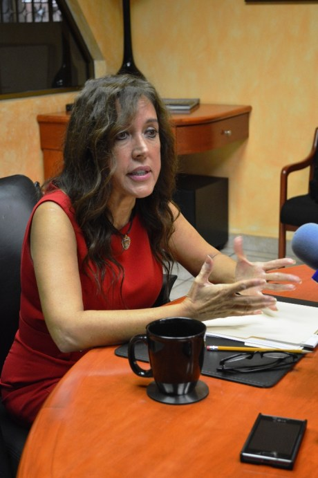 María Elena Gallego de Rigoli.