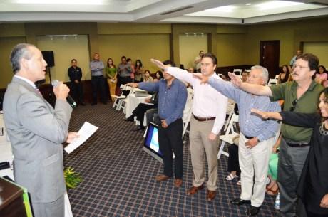 Rinde protesta RGM como presidente del Consejo Consultivo de Turismo de la Salud en Nogales.