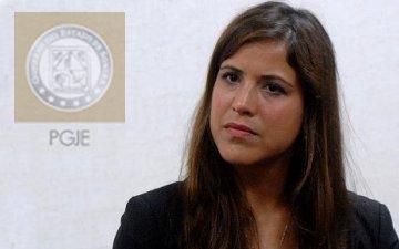 Tatiana Gómez, vocera de la PGJE.