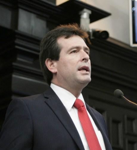 Alfonso Elías Serrano, dirigente del PRI en Sonora.