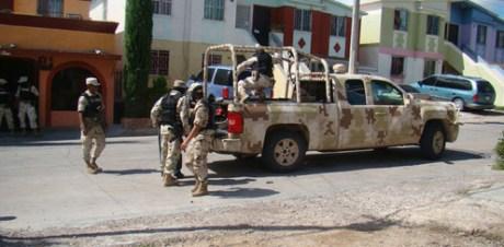 Los militares rindieron cuentas de sus actividades durante el mes pasado.