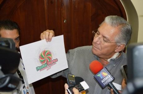 Anuncia Alcalde festividades patrias.
