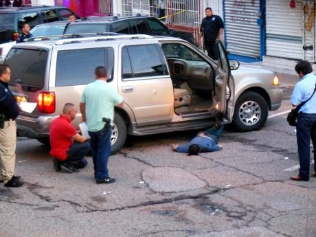 Este homicidio se registró la semana pasada en el primer cuadro de la ciudad.