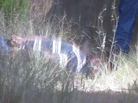El cuerpo sin vida del sujeto fue encontrado alrededor de las 19:00 horas. (Foto cortesía)