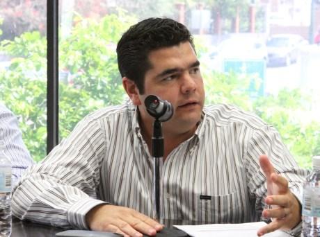 El diputado nogalense Alejandro García Rosas.
