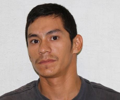 José Rodrigo Paredes Contreras  detenido en posesión de droga.