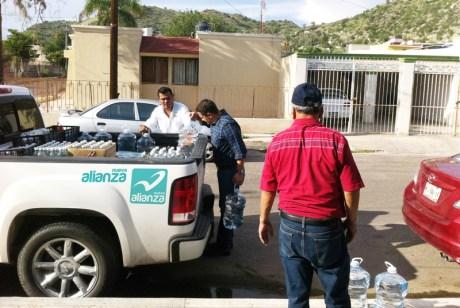 El instituto político hizo donación al poblado.