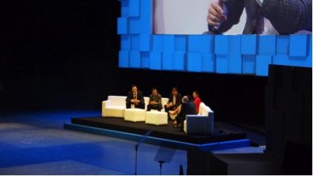 Imagen panoramica del evento.