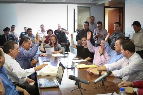 Aspectos de la reunión de la Comisión de Seguridad Pública.