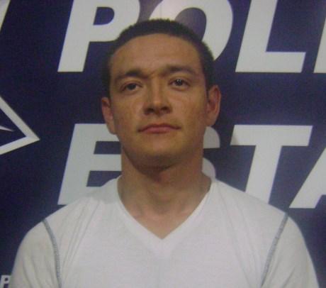 El sujeto detenido en posesión de marihuana.