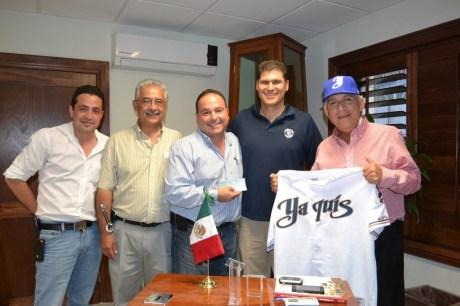 Entrega RGM apoyo para cuadrangular de la Liga Mexicana del Pacífico.