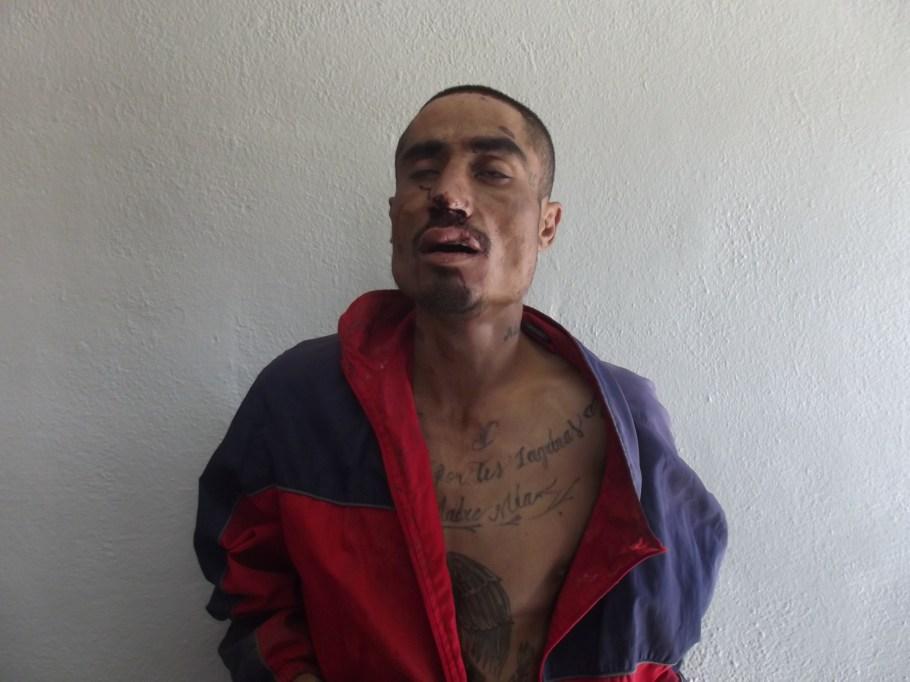 El detenido de nombre José Miguel.
