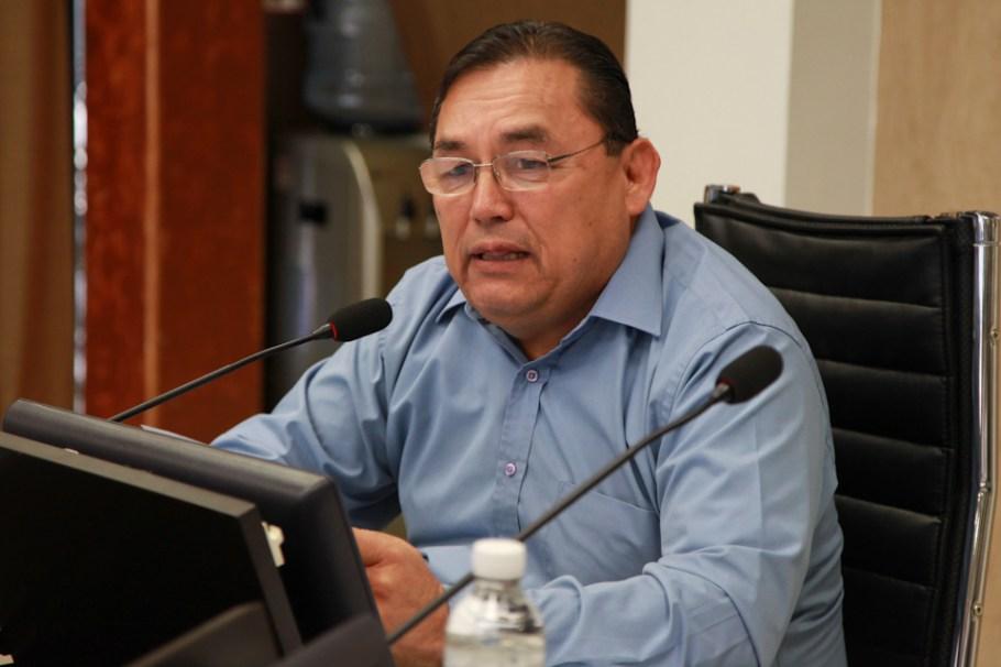 El diputado Ismael Valdez López, de la Comisión de Educación y Cultura.