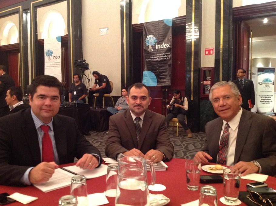 Con Alfonso Soto de la AMS.