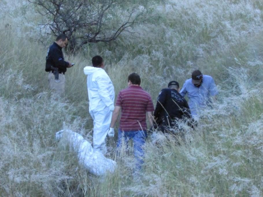 Fueron hallados entre dos cerros cercanos al fraccionamiento La Mesa.