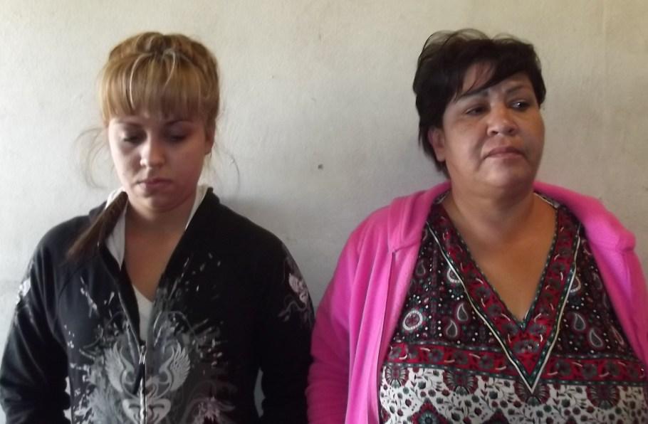 Las dos mujeres responsables de robo en Sam´s Club.