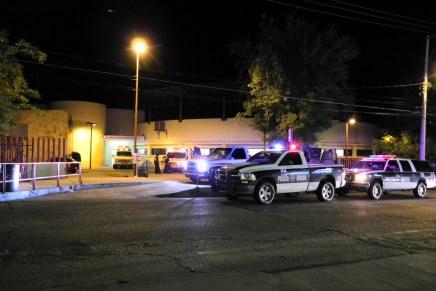 Hiere ebrio sujeto a guardia del Hospital General de Nogales