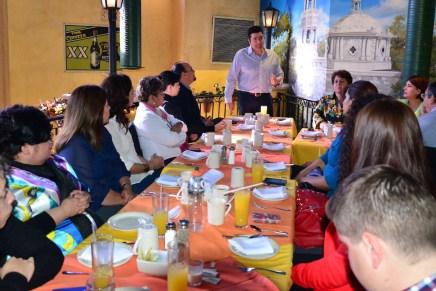 Trabaja Alejandro García Rosas en equipo con organizaciones de atención a grupos vulnerables