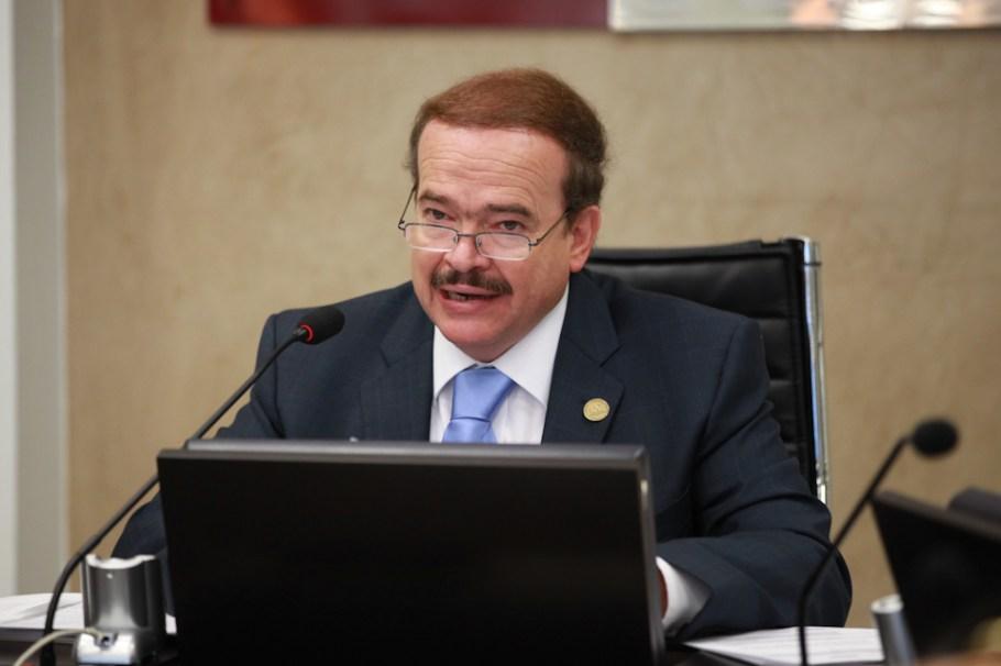 El diputado Raúl Augusto Silva Vela.