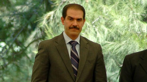 El gobernador Guillermo Padrés.