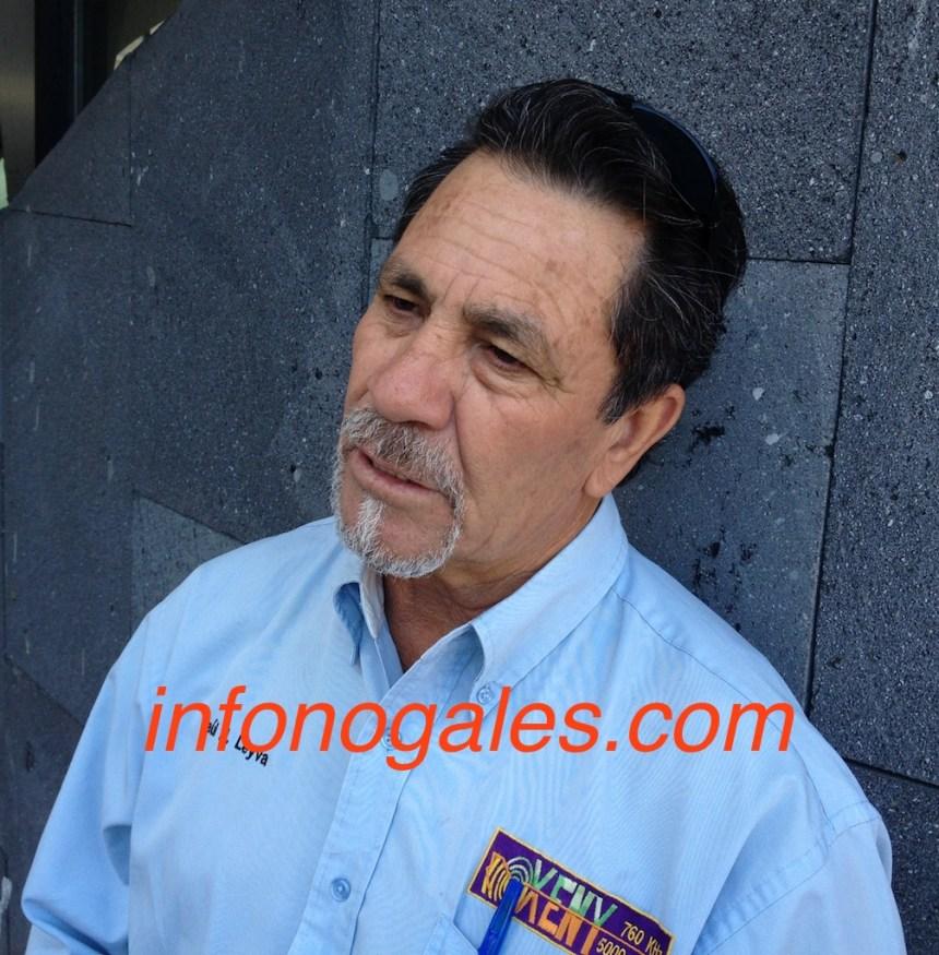 Raúl H. Leyva, periodista nogalense.