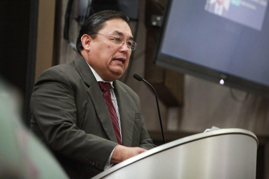 El diputado Ismael Valdez López.