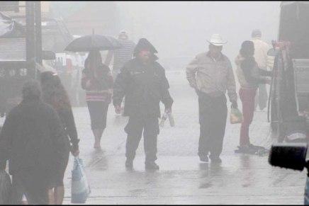 Alerta UEPC sobre temperaturas de hasta -3 grados centígrados para el fin de semana