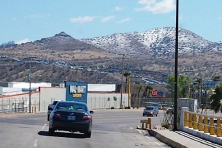 Temperaturas bajo cero en zonas serranas, nieve, lluvias y vientos fuertes este fin de semana en Sonora