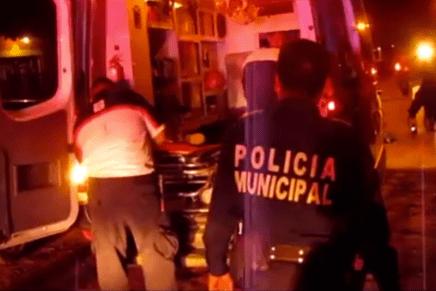 Intentan matar par de sujetos a su propio vecino, en el fraccionamiento Los Ángeles