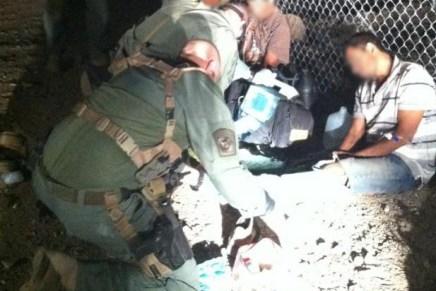 Continúa Patrulla Fronteriza rescatando migrantes, sacan a uno con las piernas rotas