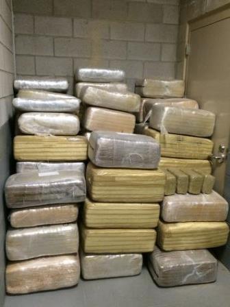 Miles de kilos de drogas han sido decomisados en las primeras semanas del año.