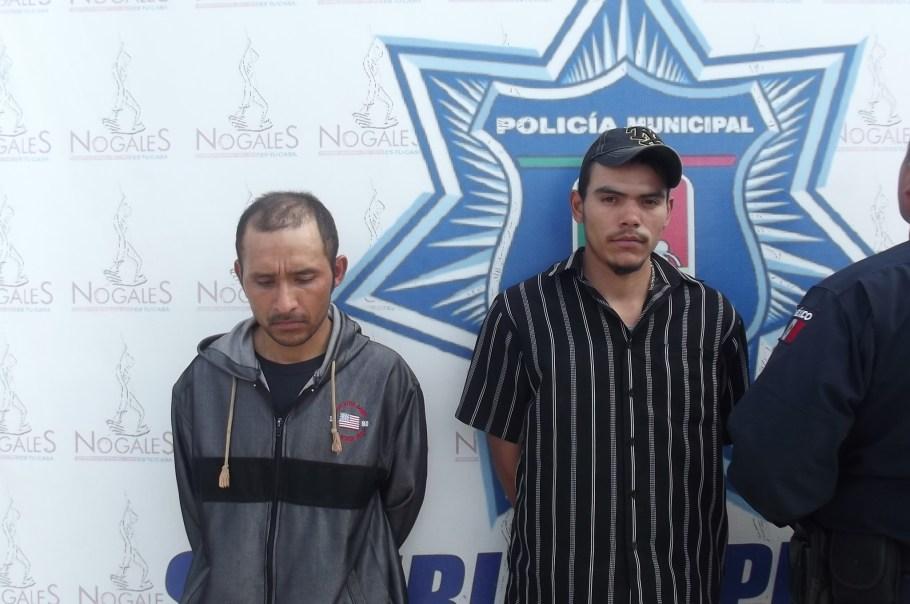 Carlos Vladimir y Juan Carlos, los detenidos.