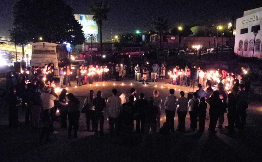 El evento reunió a decenas de personas.
