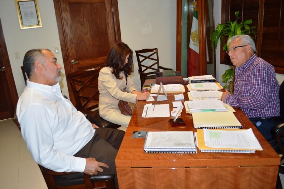 Gestionará alcalde Ramón Guzmán nueva preparatoria para Nogales.