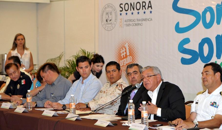 Participa alcalde Ramón Guzmán en reunión estatal para operativo de Semana Santa.