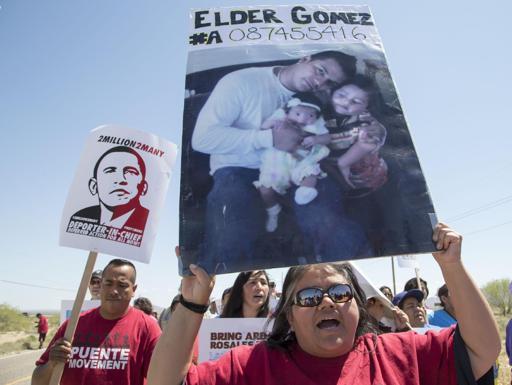 Protestas en todo EEUU contra las deportaciones.