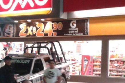 Le pegan a otro Oxxo, ahora al de la calle Orizaba