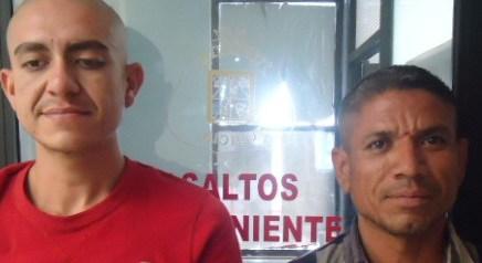 Caen dos sujetos por ser presumibles responsables del delito de robo con violencia