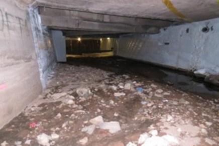 Preparan revisión del embovedado del arroyo Los Nogales, descarta CILA riesgo inminente