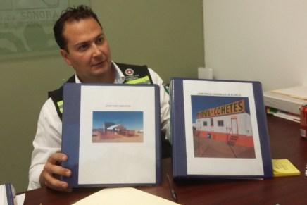 """Sólo cinco comercios pueden vender """"cuetes"""" y pirotecnia en Nogales: UEPC"""