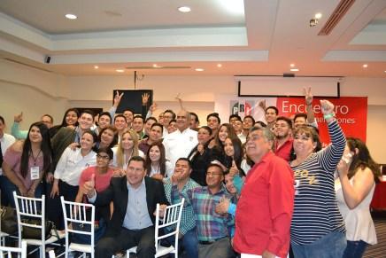 Un éxito Encuentro de Generaciones de la Escuela Estatal y Municipal de Cuadros del PRI