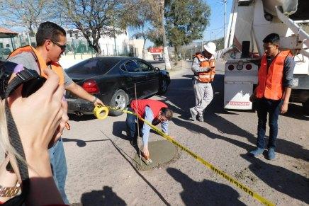 Arranca el PRI con intenso programa de bacheo en las calles de Nogales