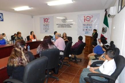 Rinde informe de actividades Diputada Infantil ante Parlamento de Niños