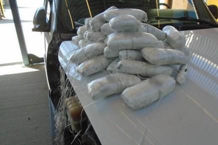 Caen otras dos mujeres con cargamentos de droga en las garitas de Nogales
