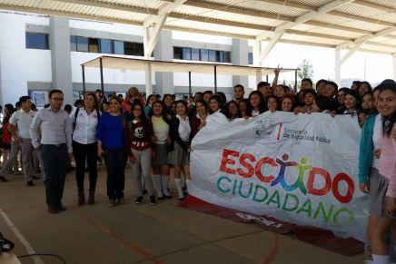 Llevan campaña preventiva contra las drogas al Cobach de Nogales