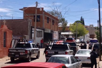 Provoca supuesto levantón de mujer, intensa movilización policiaca, por la colonia Esperanza