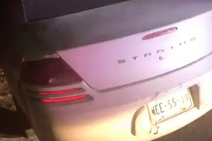 Ebrio sujeto choca cuatro vehículos y lesiona de paso a esposa e hijos