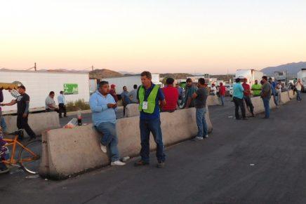 Confirman Canacintra y Caades pérdidas millonarias por bloqueo a la Aduana de México