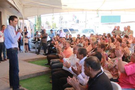 """Tenemos como prioridad recuperar Nogales en el 2018: """"Pano"""" Salido"""