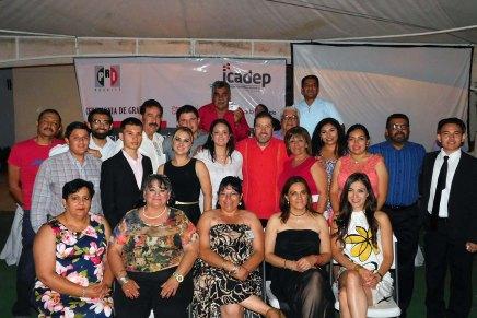 Se gradúa Primera Generación de la Escuela Municipal de Cuadros del PRI Nogales